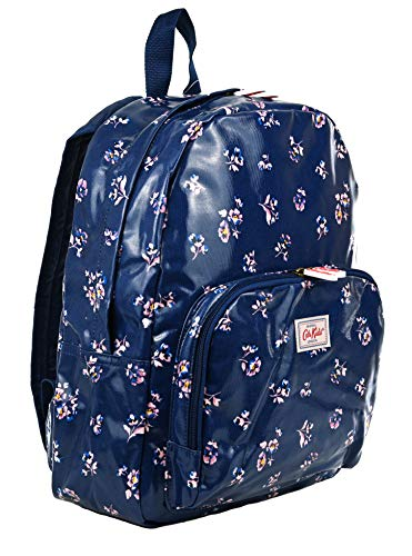 Cath Kidston Kids York Ditsy Oilcloth Rucksack Backpack in Navy