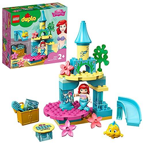 LEGO DUPLO Princess - Il Castello Sottomarino di Ariel con la Sirenetta, Giocattoli per Bimbi dai 2 ai 5 Anni, 10922