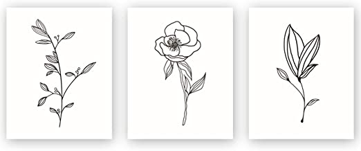 Best flower black and white drawing Reviews