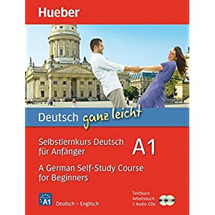 Deutsch ganz leicht A1 - A German Self-Study Course for Beginners 2 Books & CDs