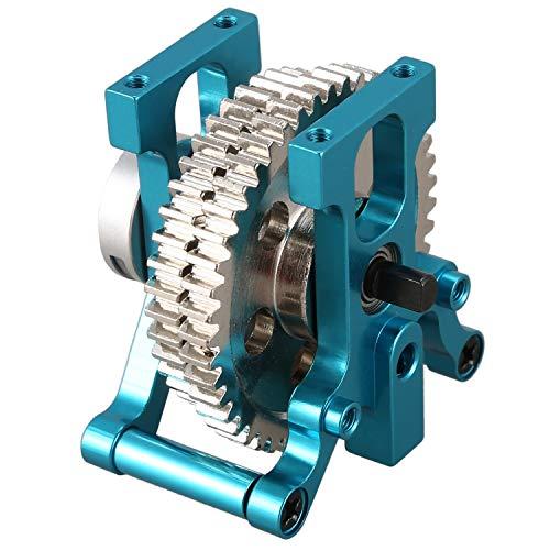 JVSISM for HSP 06034 06033 06232 122025 Metal Gears Two Speed Transmission Complete for 1/10 RC Model Off-Road Car 94155 94166 94177