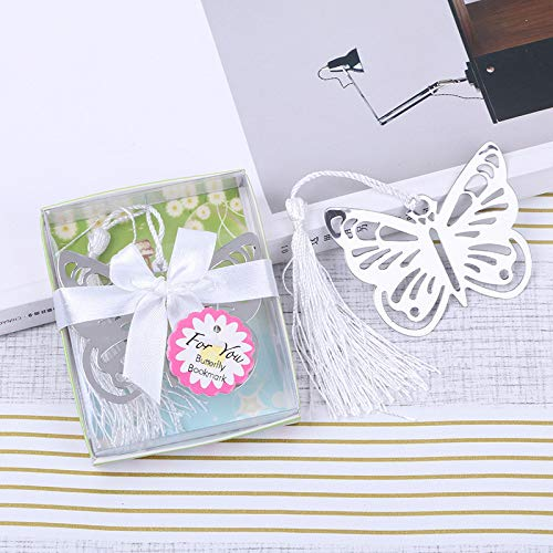 48pieces Butterfly Bookmarks Wedding Favors Party Gifts