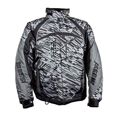 Mossi Maxx Heavy Duty Polyester Men's Jacket (Black, Small)