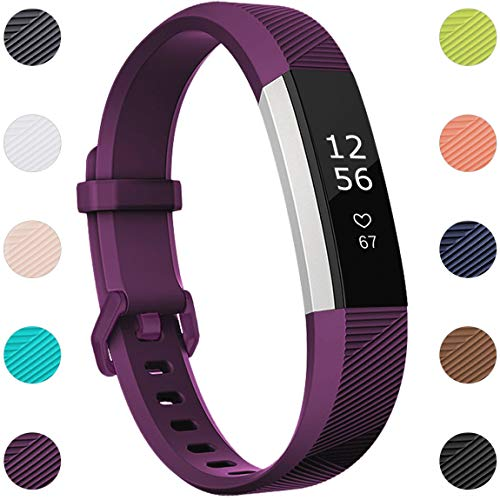 Maledan Compatible with Alta Bands for Women Men, Sports Replacement Band Strap for Alta HR/Alta/Ace, Large