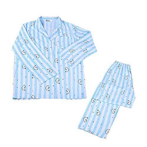 MIFIN Schlafoveralls JUNG JOOK Jimin V Harajuku Stil Pyjama Nachtwäsche Nachthemd (RJ, L)