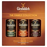 Glenfiddich The Family Collection Whisky, 3 x 5 cl