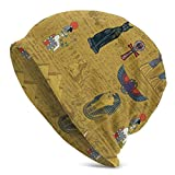 XCNGG Antiguo Egipto Beanie Skull Hat Slouch Baggy Hat para Mujer Hombre