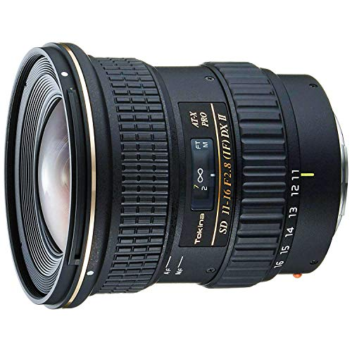 Tokina at-x 116 pro dx-ii 11-16mm f/2. 8 lens for canon mount