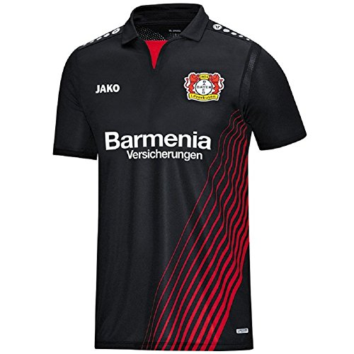 Bayer 04 Leverkusen Jako Trikot Home 17/18 (Black/red, S)