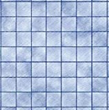 Melody Jane Miniatura para Casa de Muñecas Mármol Azul Efecto Mosaico Suelo 1:24 Escala Papel