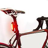 Luz trasera de Bicicleta con LED Potente. Luz Intermitente USB Recargable con 6 Modalidades....