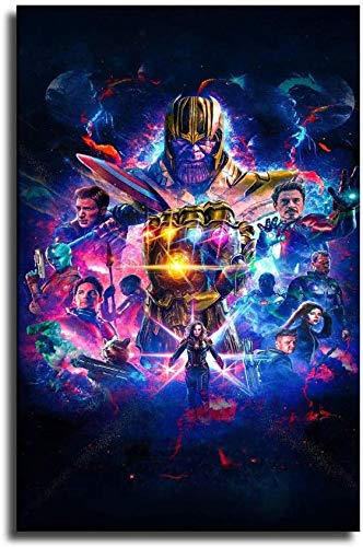 hgjfg Fondos de pantalla hd 4k Avengers Endgame Canvas Art Poster and Wall Art Picture Print Modern Family Bedroom Decor Posters