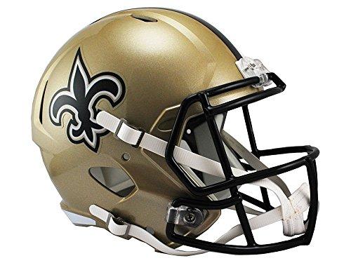 Riddell NFL New Orleans Saints Full Size Replica Football Helmet