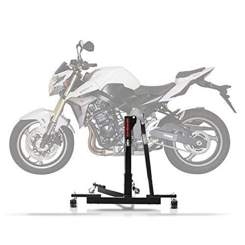 Preisvergleich Produktbild ConStands Power Evo-Zentralständer für Suzuki GSR 750 11-16 Schwarz Motorrad Aufbockständer Montageständer Heber