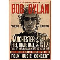 BOB DYLAN ボブディラン (新譜『1970』発売記念) - Manchester 1966 / ポスター 【公式/オフィシャル】