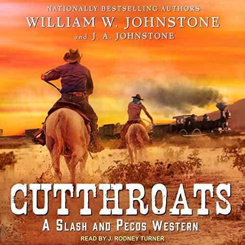 Cutthroats audiobook cover art