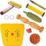 HIYA Health is your Asset Hiya ™ Acupressure Tools Kit Combo with Power Mat Massager (Multicolor)
