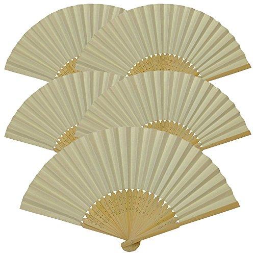 ivory hand fan - 9