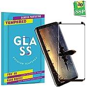 Galaxy S8 Plus Panzerglas Schutzfolie, Qualität 3D Gehärteter Glas panzerfolie [9H Härte] [HD Klar] [Anti Fingerabdruck] [Anti-Kratzen] [Blasenfrei] 3D Displayschutzfolie Folie für Samsung Galaxy S8 Plus