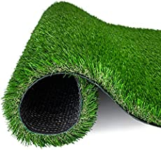 AMASKY Artificial Grass Turf 4 Tone Synthetic Artificial Turf Rug for Dog Indoor Outdoor Garden Lawn Patio Balcony Synthetic Turf Mat for Pets (3.3 ft x 5 ft = 16.5 sq ft)
