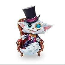 Jjzhb Estatuas Gnar Caballero Modelo, el Detective Sherlock eslabón perdido del Gato Mini Estatua, Juego LOL Retrato clásico, Vacaciones Regalo de cumpleaños, 13 cm de Altura