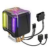 EMPIRE GAMING - Guardian V201 Ventilador de procesador para PC Gaming -Ventiladores CPU Aluminio 4 Disipadores de Cobre -RGB Direccionable - Disipador CPU Cooler Silencioso -Intel y AMD