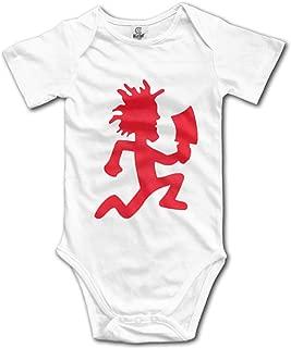 Juggalo Hatchet Man Unisex Babys Onesies Short-Sleeve Pattern Print Cotton Bodysuit