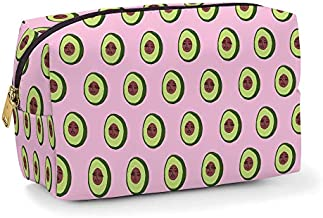 Cosmetic Bag for Makeup & Toiletries by Studio Oh! - Avocadoze - Fully Lined, Spacious Size: 10