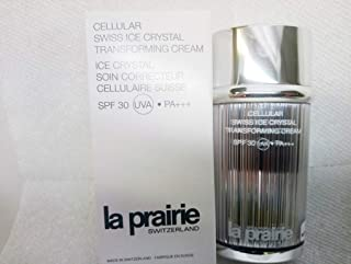 LA PRAIRIE CELLULAR SWISS ICE CRYSTAL TRANSFORMING CREAM SPF 30, 10 ROSE 1 OZ (TESTER IN BOX)