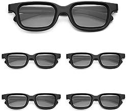 Andoer Óculos 3D passivos polarizados VQ163R para TV 3D Cinemas 3D reais para Sony Panasonic