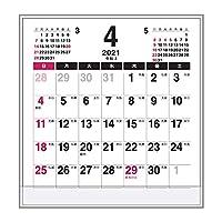 卓上カレンダー【2021年 4月始まり 年度版】FD メイト CTN-582