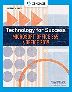 Technology for Success and Illustrated Series™ Microsoft Office 365 & Office 2019 (MindTap Course List)