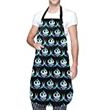 Anime und Super Tengen Toppa Gurren Lagann Flagge Klassische Kochschürze mit Tasche für Männer Frauen