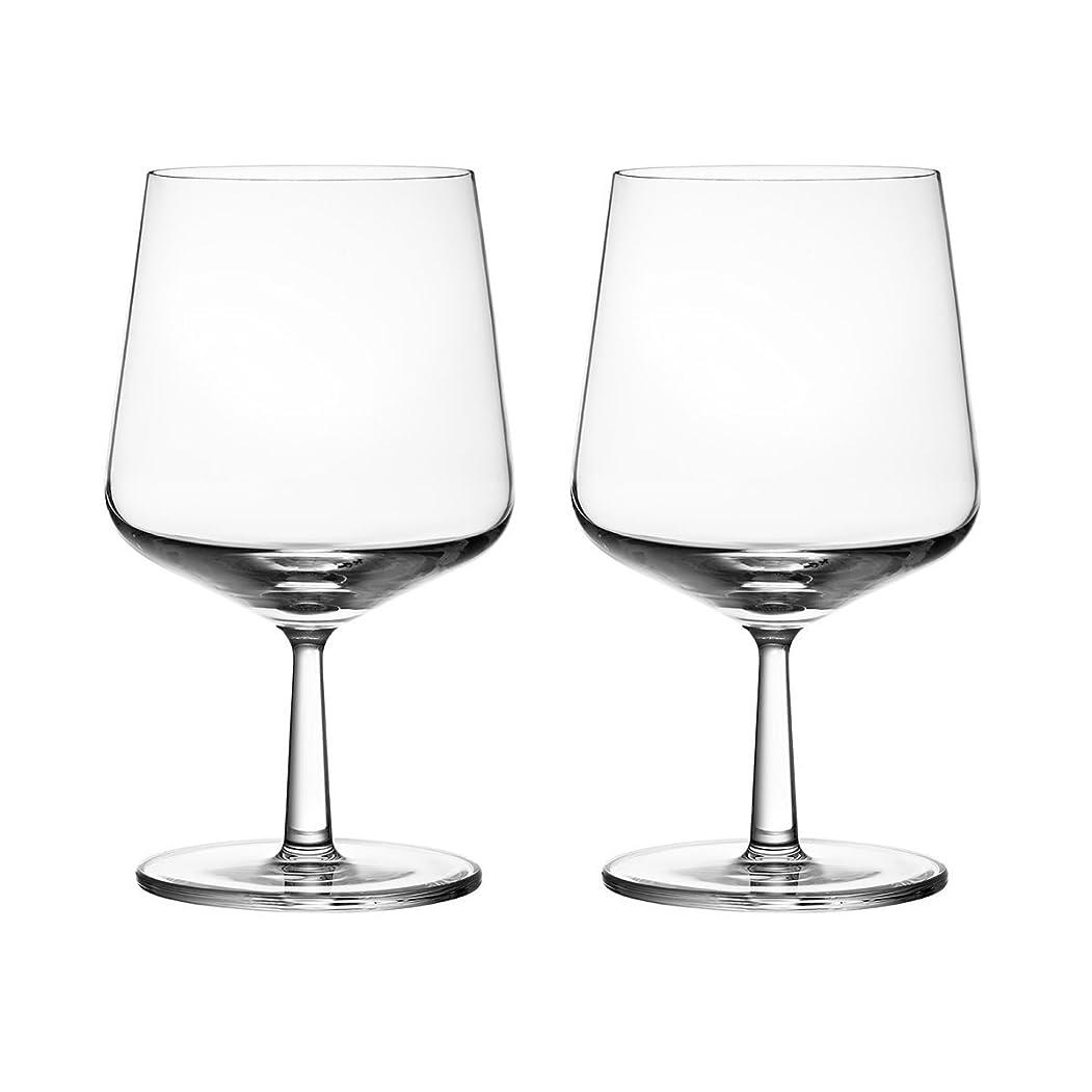 旅行代理店従者ポップIittala Essenceビールガラスの2つのセット( 16oz )