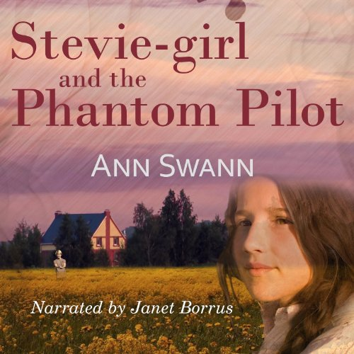 Stevie-girl and the Phantom Pilot audiobook cover art
