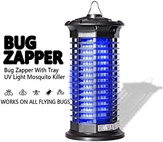 Garsum Bug Zapper|Electric Mosquito Killer|Powerful Indoor Insect Trap|UV Lamp|Child & Pet Safe, Non-Toxic|Fly Zapper Repellent for Home, Indoor, Kitchen