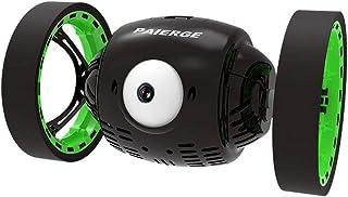 IPOTCH Big Eye Bounce RC Car Coche Rebotando 2.4g Coche de Salto con Música Faros Led
