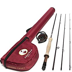 Leland Rod Co. Sonoma Starter Trout Fly Fishing Combo (Includes: Rod, Reel, Line, and Leader) Review