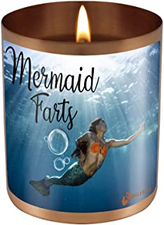 Mermaid Farts - Underwater Gas Smells Like Ass Light This to Mask The Splash - 11 oz Natural Soy Candle Hand Poured Made in The USA