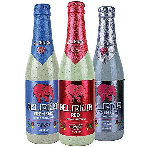 Delirium - 3er Bier Set - aus Belgien - je 0,33l von.BierPost.com
