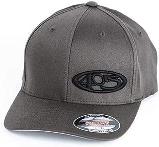 405 Grey w/Black Hat