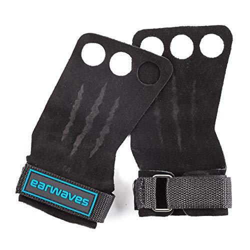 Earwaves ® Raptor Grips - Calleras Crossfit Cuero para Hombre y Mujer. Guantes para Calistenia, Halterofilia, Dominadas, Pull ups, Kettlebells, Gymnastics, etc