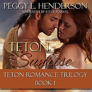 Teton Sunrise audiobook cover art