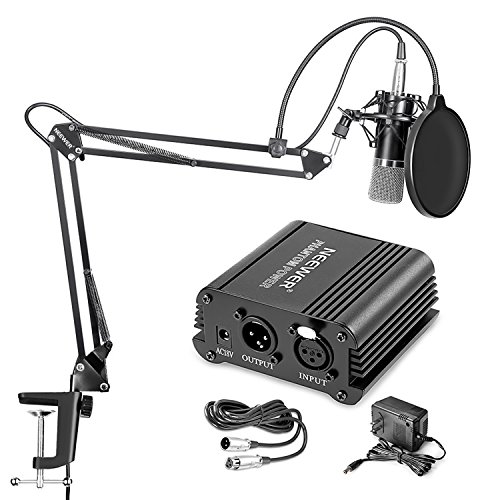 Neewer NW-700 Professional Condenser Microphone & NW-35 Suspension...