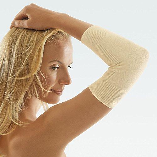 Nierenw/ärmer Wolle Angora S silber W/ärmeschutz ClimaCare/® Leibw/ärmer