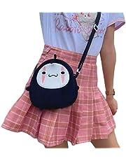 Mcttui Gevulde dierlijke rugzak pluche tas speelgoed, 20 cm geen gezicht man cartoon pluche rugzakken speelgoed Hayao miyazaki pittig weg anime pluche tas poppen verstelbare riem tas cadeau voor meisj