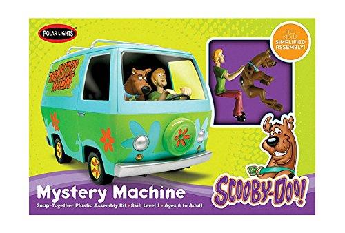 Maqueta Furgoneta Scooby Doo. Incluye personajes Scooby y Shaggy. Kit de montaje facil. Escala 1/25