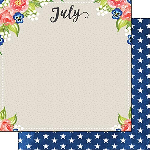 Very popular Scrapbook Customs 37676 July Memories 12 Double-S x High quality new Inch