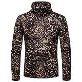 Jersey de punto para hombre, informal, cálido, de punto de cable, cuello redondo, color sólido, sudadera superior (color: negro, tamaño: L)