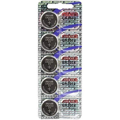 Maxell CR2032-B5MXL - Blister de pillas tipo botón de litio CR2032 3V (5 unidades)